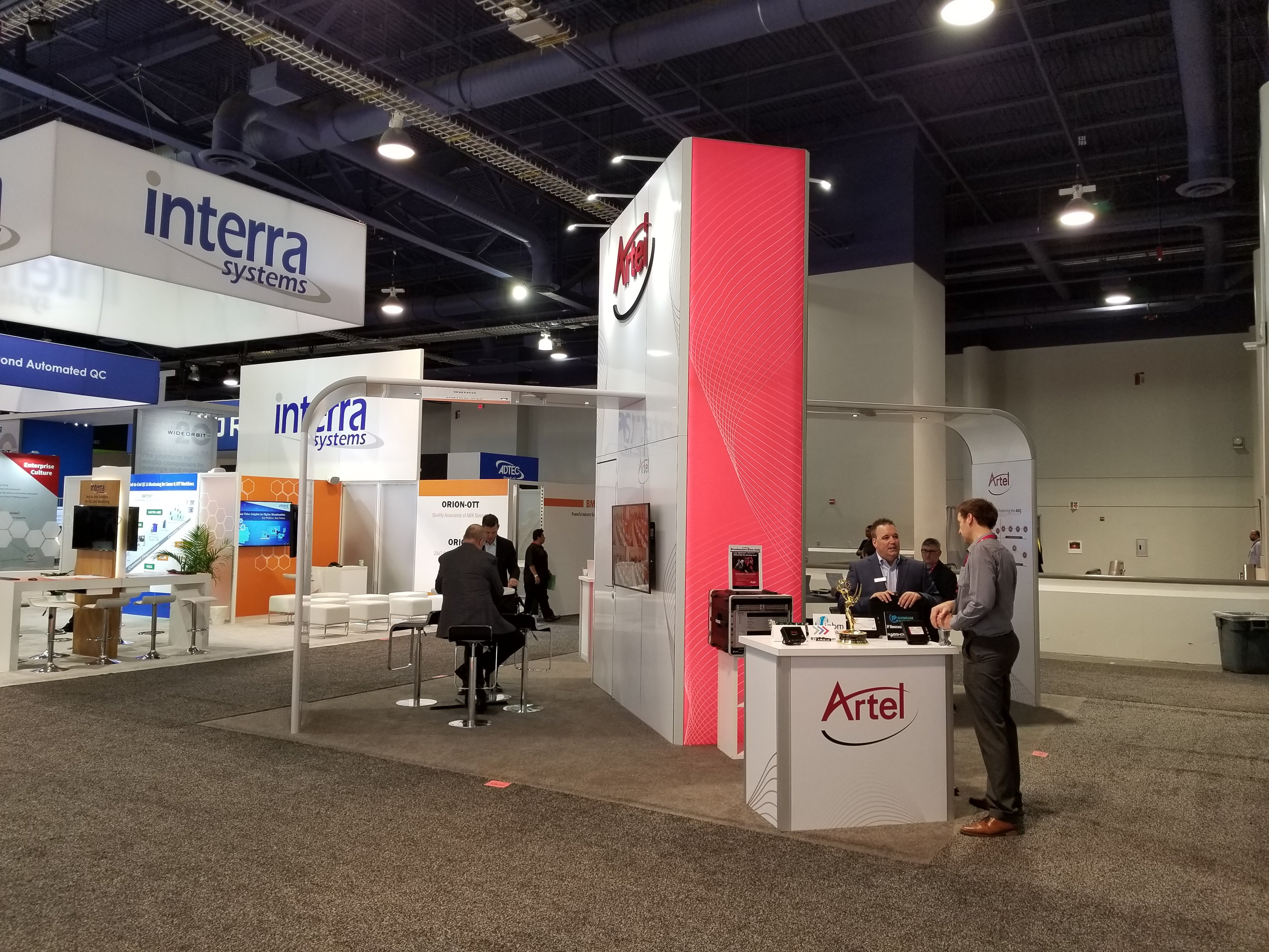 NAB Show 2019 Booth
