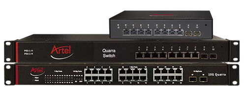 Quarra PTP Ethernet Switch family