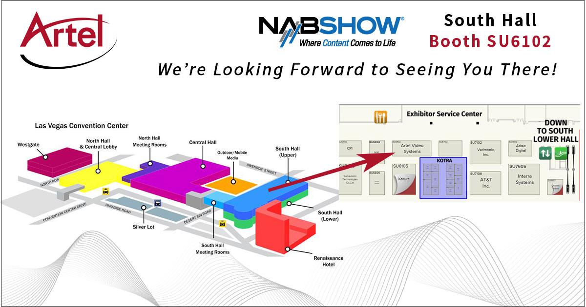NAB 2018 Booth Location