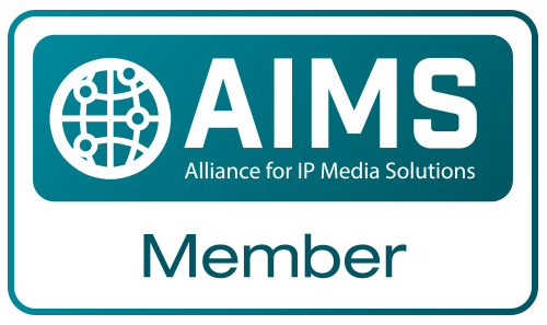 AIMS Alliance for IP Media Solutions Member